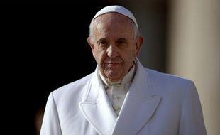 Le pape François au Vatican, le 16 décembre 2015