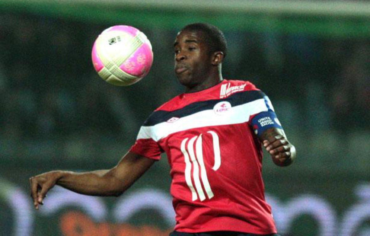 Rio Mavuba, joueur du LOSC. – PHILIPPE HUGUEN / AFP