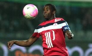 Rio Mavuba, joueur du LOSC.
