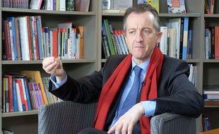 Christophe Barbier dans le documentaire «La politique fait son cinéma».