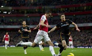 Arsenal a manqué l'occasion de se rapprocher du podium du Championnat d'Angleterre, en concédant le match nul sur sa pelouse face à Wolverhampton (1-1) mardi lors de la 18e journée.