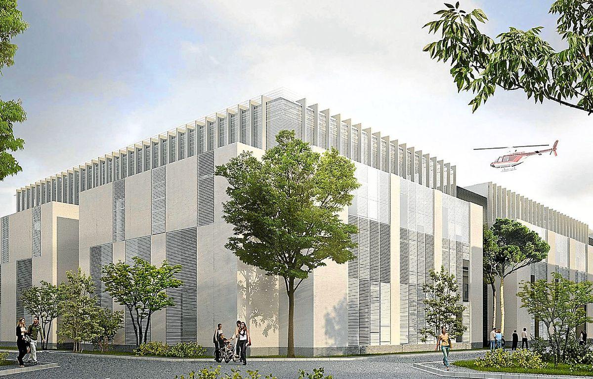 Le pavillon P regroupera les blocs opératoires, l'imagerie d'urgence et les soins critiques. – Artefactory