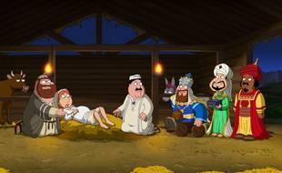 Un épisode de la saison 11 des Griffin propose une relecture irrévérencieuse de la Nativité.