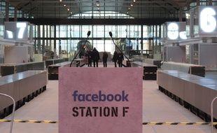 La halle de Station F ce mardi matin