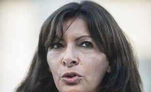 Anne Hidalgo la maire de Paris le 18 septembre 201.