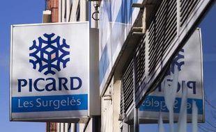 Un magasin Picard à Paris le 28 janvier 2013.