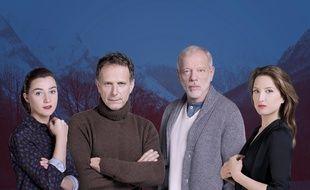 Le casting de «Glacé», nouvelle série polar de M6