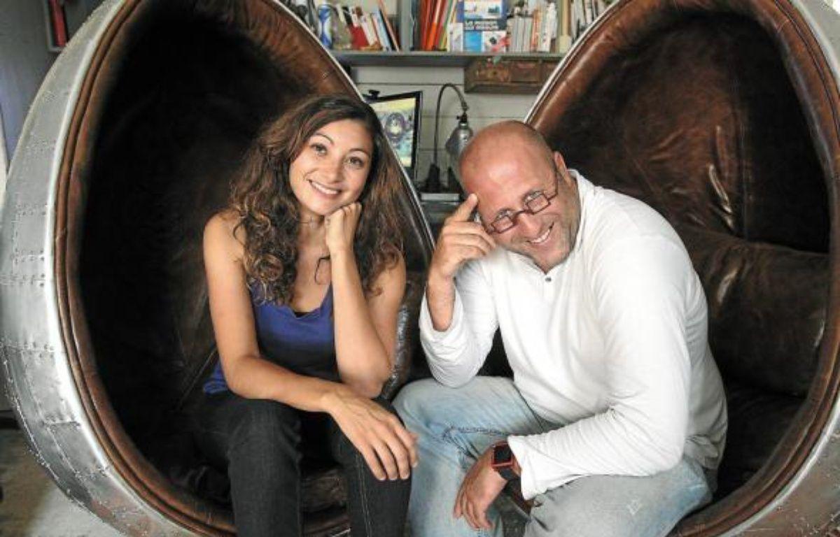 Pauline Moussier, vice-présidente des Ateliers du Design, et Frédéric Tabary. –  F. elsner / 20 Minutes