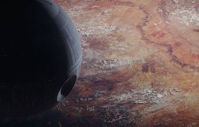 L'Etoile de la mort dans Rogue One - A Star Wars Story