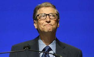 Bill Gates à l'assemblée des actionnaires de Microsoft, le 19 novembre 2013.