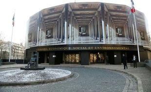 Le siège du Cese, le Palais d'Iéna, à Paris