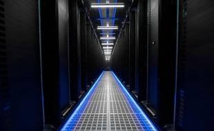 Un data center à Colombus dans l'Ohio aux Etats-Unis (photo illustration).