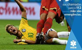 Quand Neymar devient une source d'inspiration pour le samu portugais