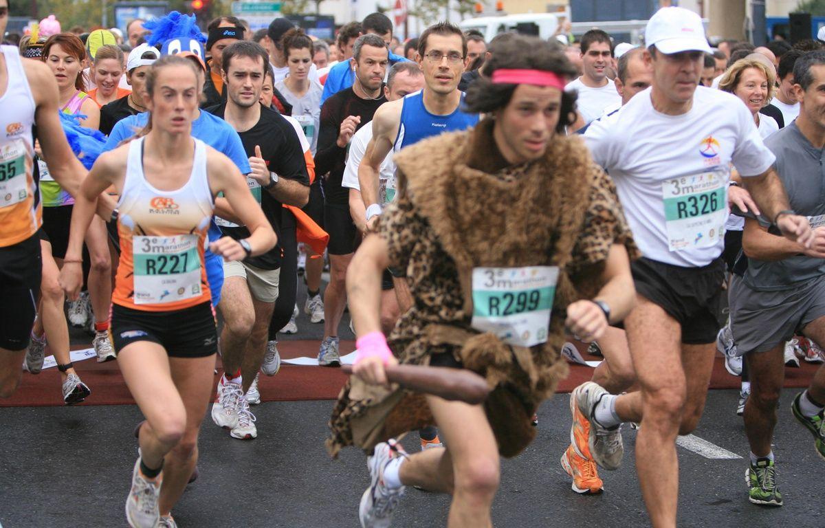 Le Marathon est aussi une occasion de se montrer. Archives. – Alexandre GELEBART/20MINUTES