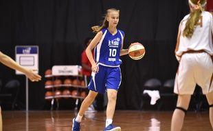 La Lituanienne Juste Jocyte est considérée comme l'une des futures stars du basket féminin.