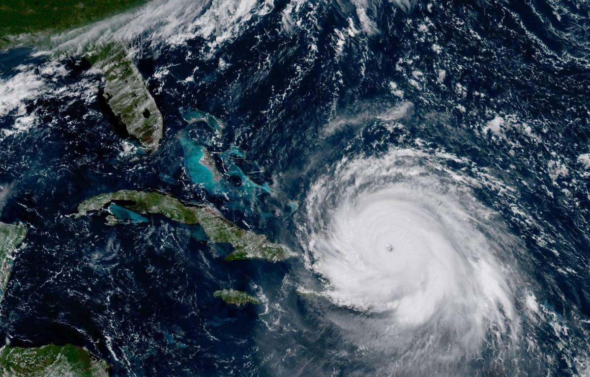 L'ouragan Irma pourrait frapper la Floride de plein fouet dans la nuit de samedi à dimanche. – AP/SIPA