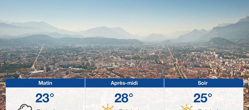 Météo Grenoble: Prévisions du lundi 21 juin 2021