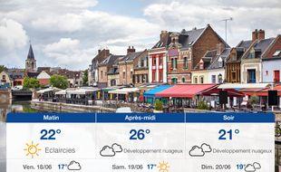 Météo Amiens: Prévisions du jeudi 17 juin 2021