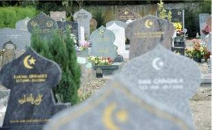 Les cimetières strasbourgeois sud et nord n'abritent que des « carrés » musulmans.