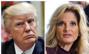 Summer Zervos accuse Donald Trump de harcèlement sexuel et a attaqué le président en diffamation.
