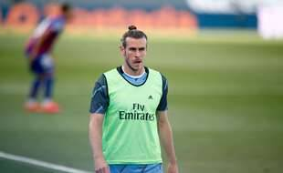 Gareth Bale à l'entraînement du Real Madrid, le 14 juin 2020.