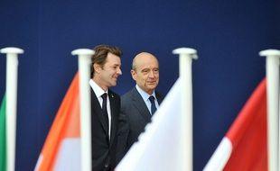 François Baroin et Alain Juppé.