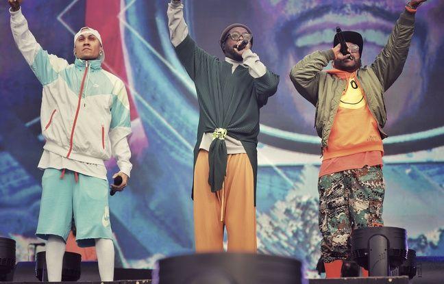Les Black Eyed Peas (ici en concert à Londres le 14 juillet 2019) sont l'une des têtes d'affiches de la soirée de samedi aux Vieilles Charrues.