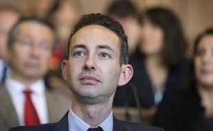 Ian Brossat, adjoint PCF en charge du logement à la mairie de Paris, le 5 avril 2014 dans la capitale
