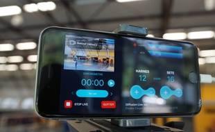 L'application Swish Live permet de diffuser les compétitions des clubs amateurs en direct.
