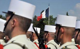 Des légionnaires à Aubagne le 30 avril 2011
