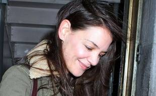 Katie Holmes à New York, le 30 décembre 2012.