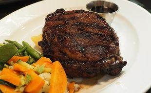 Un steak, illustration