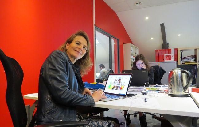 Marie Treppoz, fondatrice de Welp, une plateforme web qui met en relation associations et bénévoles.