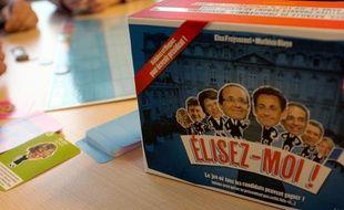 Les éditions Marabout sortent un jeu de société, Elisez-moi, sur la politique française.