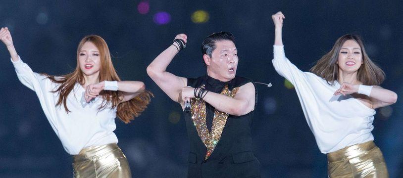 Psy, la provoc' dans la peau.