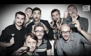 Capture d'écran de la vidéo en time-lapse de Movember à la rédaction de 20 Minutes.