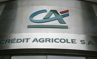 Le logo du Crédit agricole.