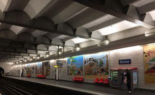 La RATP fête les 60 ans d'Astérix.