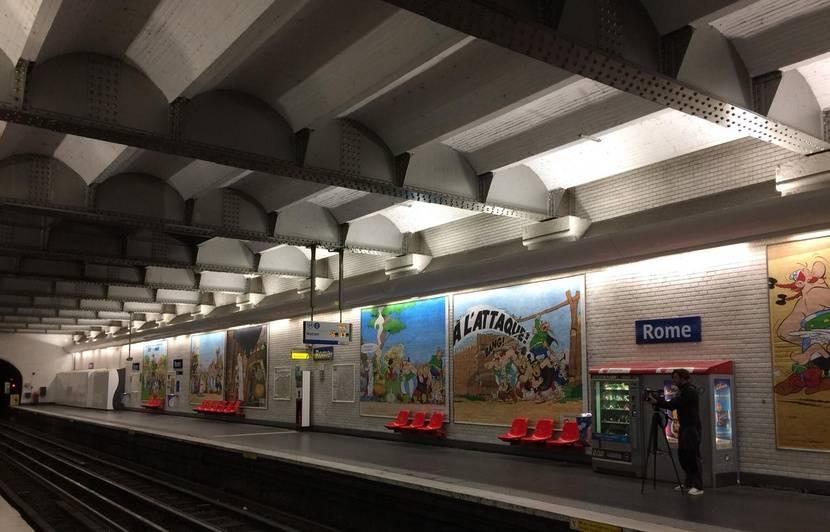 Paris : Pour les 60 ans d'Astérix, la RATP rebaptise des stations de métro