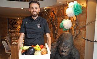 Le chef azuréen Willy Berton, 38 ans, est à la tête du Vegan Gorilla