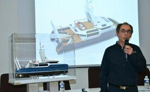 Fabrice Faure, coordinateur du projet Imos à La Rochelle, le 4 mars 2015
