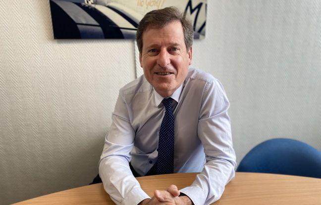 Jean-Luc Poiroux, directeur du développement de l'aéroport de Bordeaux