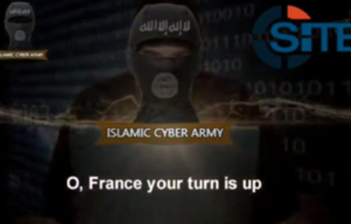 Un tract des hackers de l'Islamic Cyber Army. – SITE