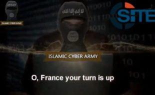 Un tract des hackers de l'Islamic Cyber Army.