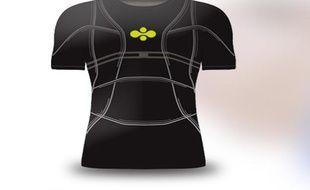 Un tee shirt connecté inventé à Lyon