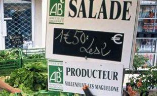 Le label AB certifie l'Agriculture biologique en France