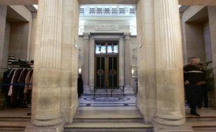 L'entrée de la Cour d'appel de Paris le 10 janvier 2005