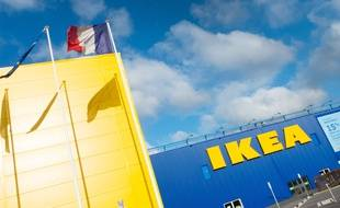 Le magasin IKEA de Paris Nord, à Gonesse.