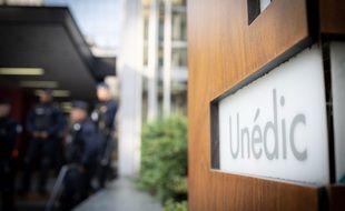 Le siège de l'Unédic à Paris.
