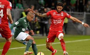 A l'image de son équipe, Wahbi Khazri est en partie passé à côté du match que tout le peuple vert attendait tant, vendredi contre Montpellier (0-1). JEAN-PHILIPPE KSIAZEK